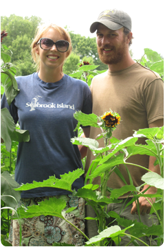 Steve and Gretel Adams Natural Farmers in Columbus Ohio